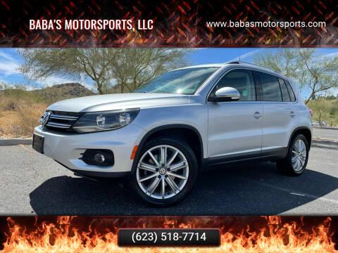 2012 Volkswagen Tiguan for sale at Baba's Motorsports, LLC in Phoenix AZ