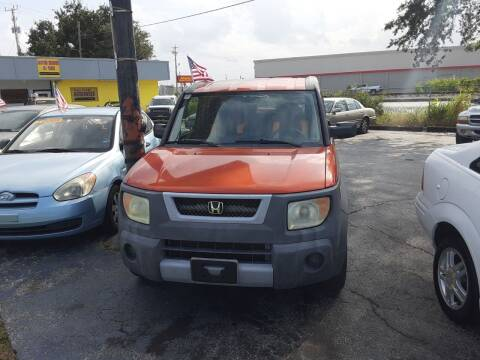 2005 Honda Element for sale at Easy Credit Auto Sales in Cocoa FL