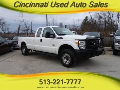 2014 Ford F-350 Super Duty for sale at Cincinnati Used Auto Sales in Cincinnati OH
