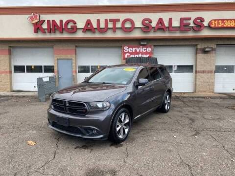 2014 Dodge Durango for sale at KING AUTO SALES  II in Detroit MI