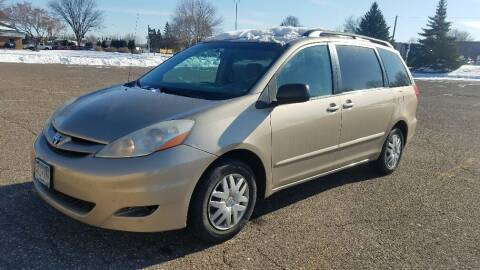 2007 Toyota Sienna for sale at Capital Fleet  & Remarketing  Auto Finance in Columbia Heights MN
