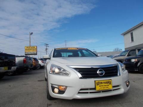 2015 Nissan Altima for sale at Kevin Harper Auto Sales in Mount Zion IL