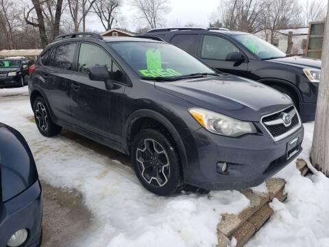 2013 Subaru XV Crosstrek for sale at Northwoods Auto & Truck Sales in Machesney Park IL