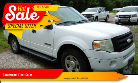 2008 Ford Expedition for sale at Government Fleet Sales in Kansas City MO
