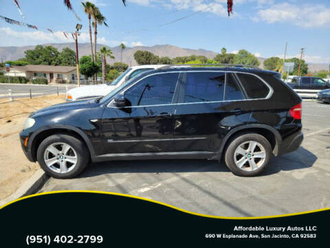2008 BMW X5 for sale at Affordable Luxury Autos LLC in San Jacinto CA