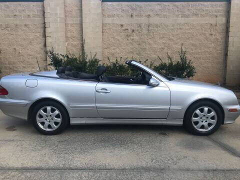 2001 Mercedes-Benz CLK for sale at Hollingsworth Auto Sales in Wake Forest NC