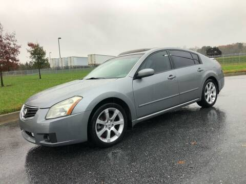 2007 Nissan Maxima for sale at GTO United Auto Sales LLC in Lawrenceville GA