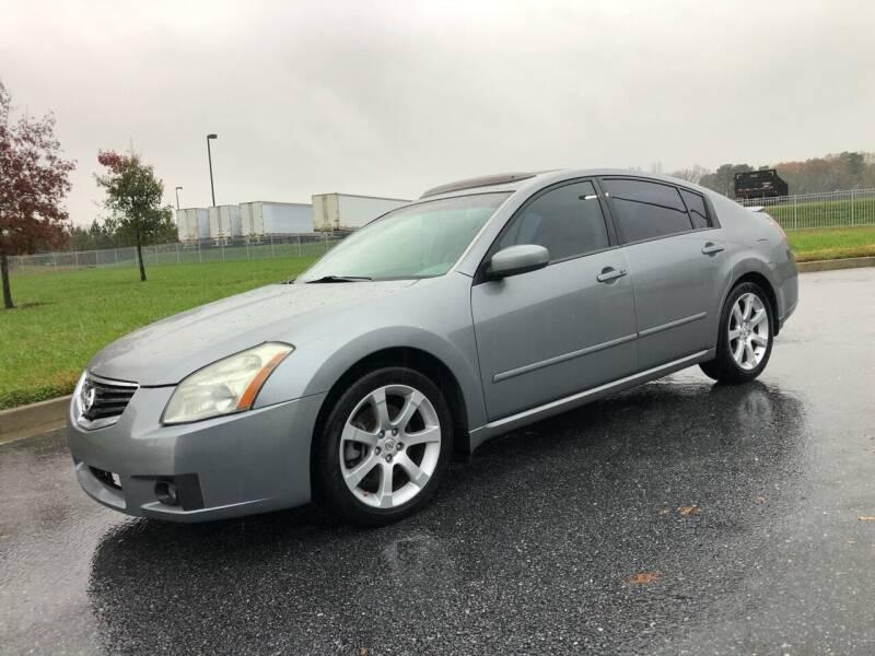 2007 Nissan Maxima for sale at GTO United Auto Sales LLC in Lawrenceville GA
