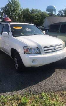 2004 Toyota Highlander for sale at SRI Auto Brokers Inc. in Rome GA
