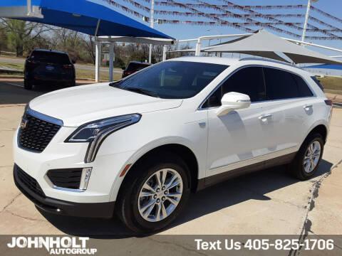 2021 Cadillac XT5 for sale at JOHN HOLT AUTO GROUP, INC. in Chickasha OK