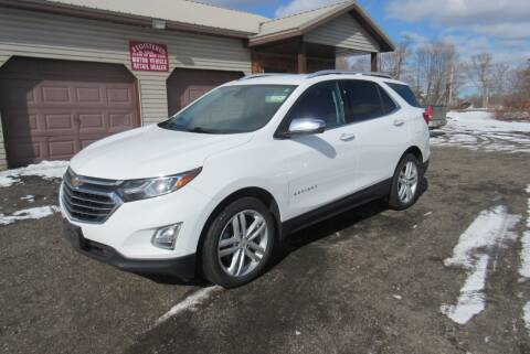 2018 Chevrolet Equinox for sale at Clearwater Motor Car in Jamestown NY