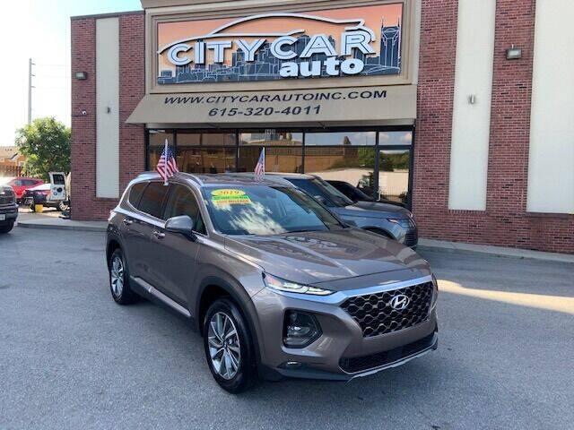 2019 Hyundai Santa Fe for sale at CITY CAR AUTO INC in Nashville TN