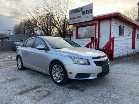 2012 Chevrolet Cruze for sale at Crosby Auto LLC in Kansas City MO