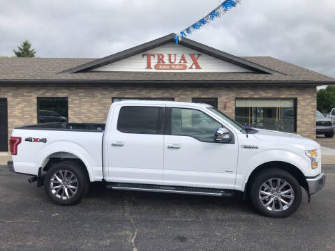 2016 Ford F-150 for sale at Truax Auto Sales Inc. in Deer Creek MN