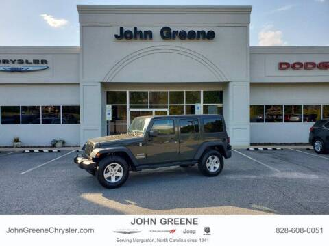 2015 Jeep Wrangler Unlimited for sale at John Greene Chrysler Dodge Jeep Ram in Morganton NC