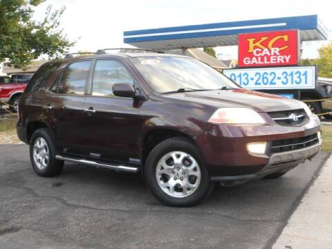 2001 Acura MDX for sale at KC Car Gallery in Kansas City KS