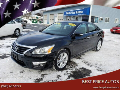 2015 Nissan Altima for sale at Best Price Autos in Two Rivers WI