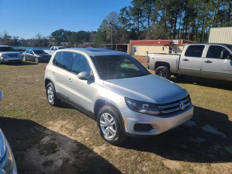 2012 Volkswagen Tiguan for sale at Lakeview Auto Sales LLC in Sycamore GA