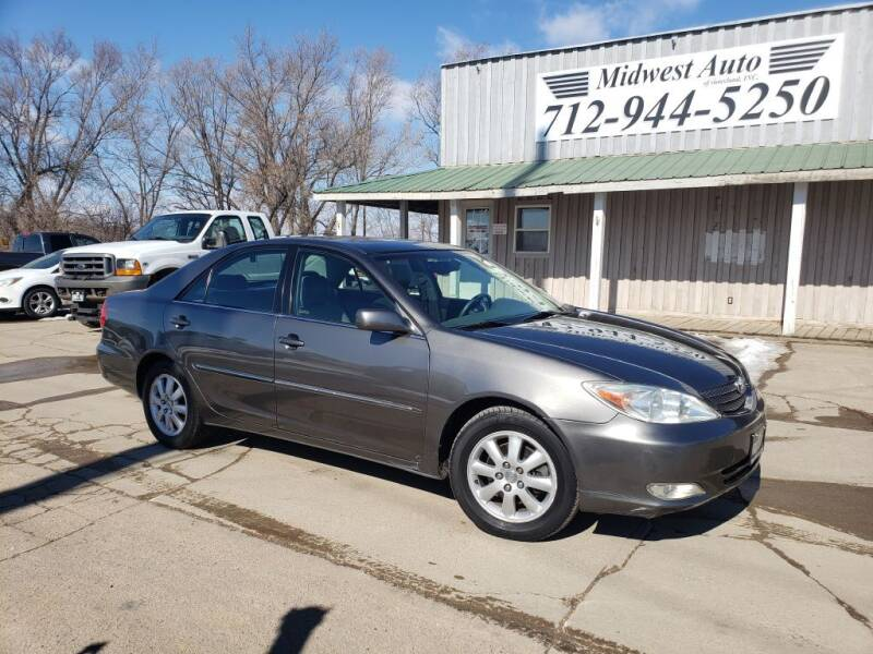 2003 Toyota Camry for sale at Midwest Auto of Siouxland, INC in Lawton IA