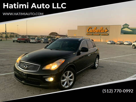 2009 Infiniti EX35 for sale at Hatimi Auto LLC in Buda TX