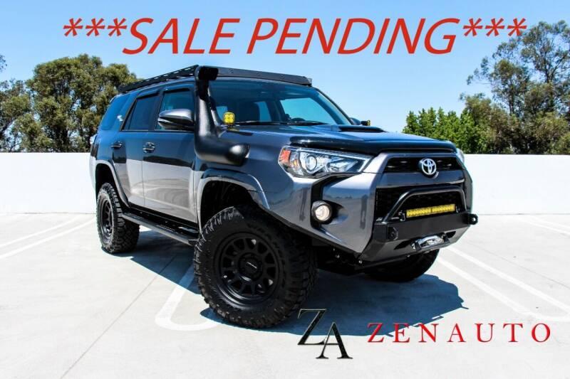 2019 Toyota 4Runner for sale at Zen Auto Sales in Sacramento CA