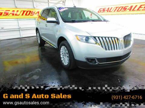 2012 Lincoln MKX for sale at G and S Auto Sales in Ardmore TN