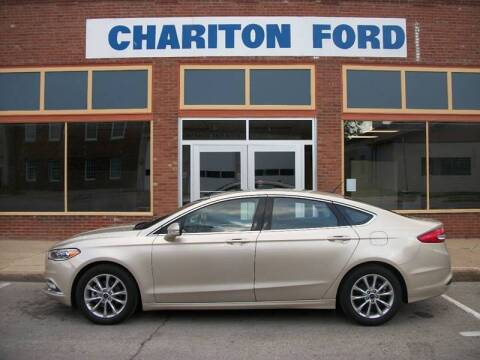 2017 Ford Fusion for sale at Chariton Ford in Chariton IA