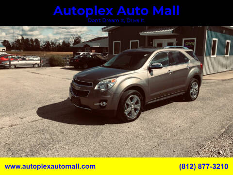 2012 Chevrolet Equinox for sale at Autoplex Auto Mall in Terre Haute IN