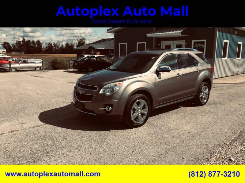 2012 Chevrolet Equinox for sale at Autoplex Auto Mall in Terre Haute IN