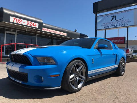 2010 Ford Shelby GT500 for sale at NORRIS AUTO SALES in Oklahoma City OK