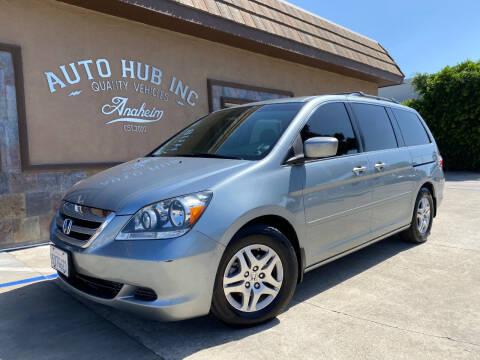 2007 Honda Odyssey for sale at Auto Hub, Inc. in Anaheim CA