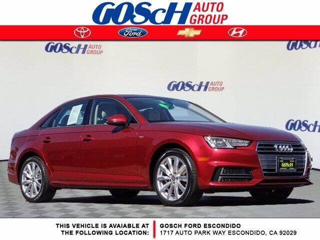 2018 Audi A4 for sale at BILLY D SELLS CARS! in Temecula CA