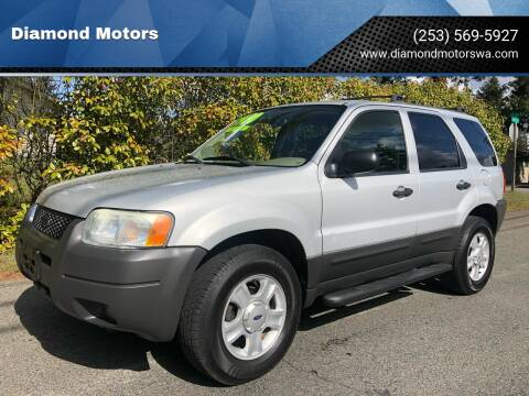 2004 Ford Escape for sale at Diamond Motors in Lakewood WA