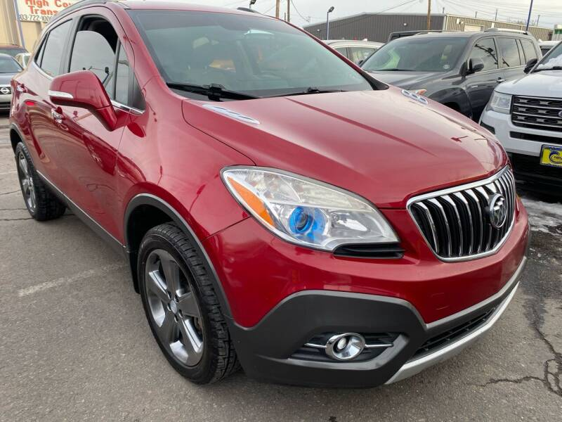 2014 Buick Encore for sale at New Wave Auto Brokers & Sales in Denver CO