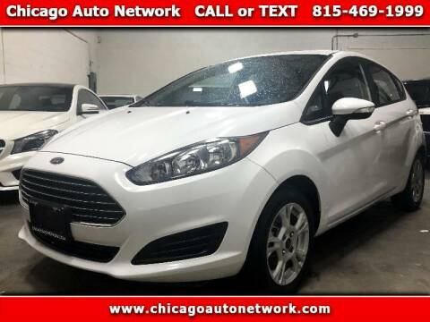 2015 Ford Fiesta for sale at Chicago Auto Network in Mokena IL