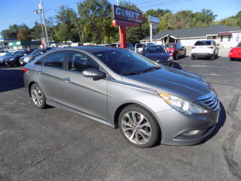 2014 Hyundai Sonata for sale at Comet Auto Sales in Manchester NH