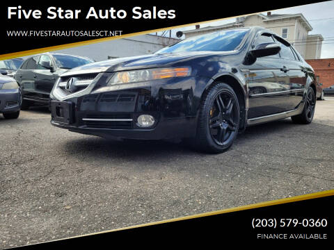 2008 Acura TL for sale at Five Star Auto Sales in Bridgeport CT