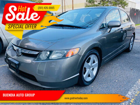 2008 Honda Civic for sale at BUENDIA AUTO GROUP in Hasbrouck Heights NJ