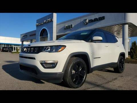2021 Jeep Compass for sale at Herman Jenkins Used Cars in Union City TN