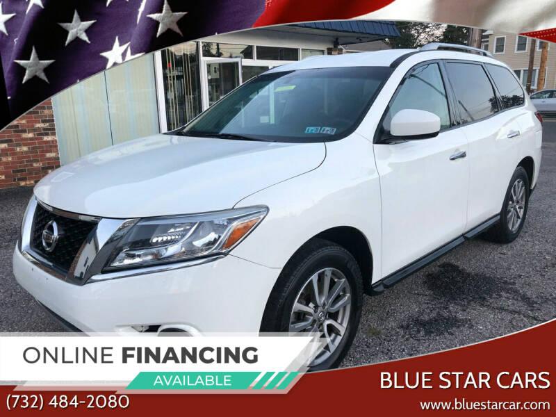 2016 Nissan Pathfinder for sale at Blue Star Cars in Jamesburg NJ