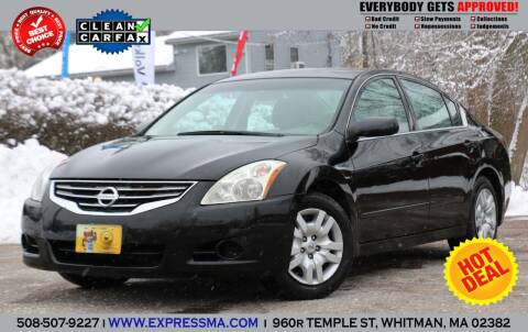 2010 Nissan Altima for sale at Auto Sales Express in Whitman MA