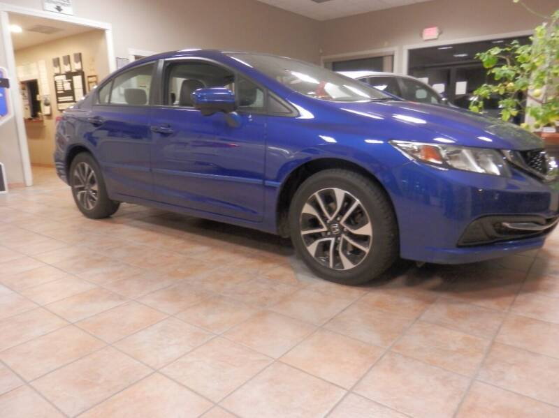 2015 Honda Civic for sale at ABSOLUTE AUTO CENTER in Berlin CT