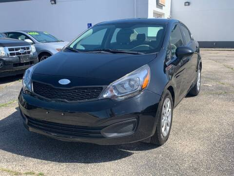 2014 Kia Rio for sale at HIGHLINE AUTO LLC in Kenosha WI