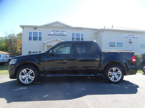 2009 Ford Explorer Sport Trac for sale at SOUTHERN SELECT AUTO SALES in Medina OH