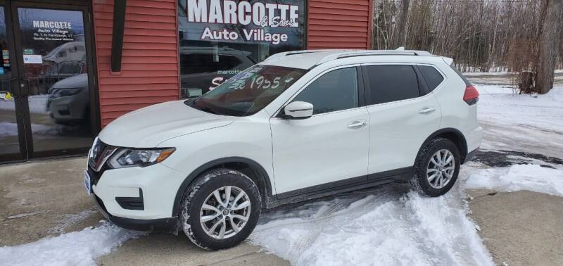 2017 Nissan Rogue for sale at Marcotte & Sons Auto Village in North Ferrisburgh VT