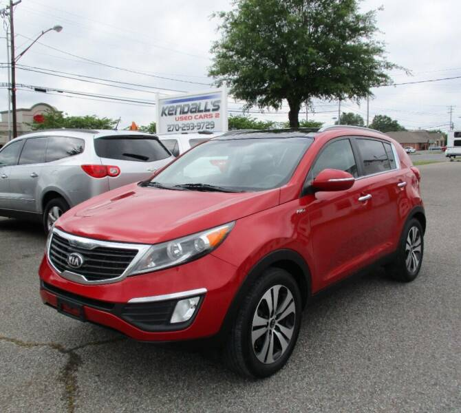 2013 Kia Sportage for sale at Kendall's Used Cars 2 in Murray KY
