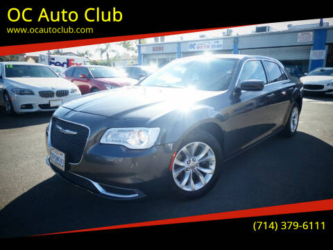 2016 Chrysler 300 for sale at OC Auto Club in Midway City CA