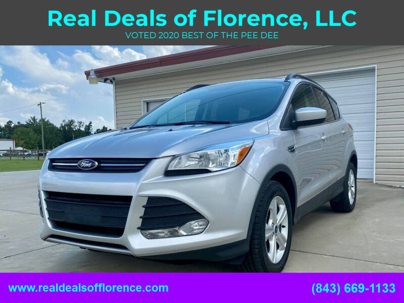 2016 Ford Escape for sale at Real Deals of Florence, LLC in Effingham SC