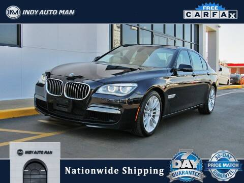 2014 BMW 7 Series for sale at INDY AUTO MAN in Indianapolis IN