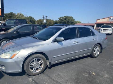 2007 Honda Accord for sale at Bam Auto Sales in Azle TX
